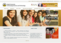 Baddi University Himachal Pradesh - Website Designed & Developed By AMS Informatics