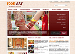 Food Art Chandigarh - Website Designed & Developed By AMS Informatics