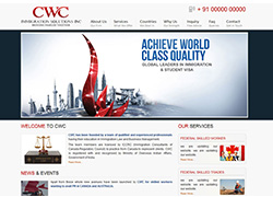 CWC Immigration Chandigarh -  Website Designed & Developed By AMS Informatics