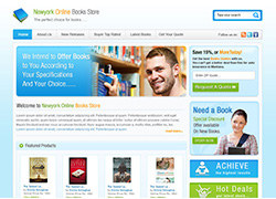 Newyork online books store -  Website Designed & Developed By AMS Informatics