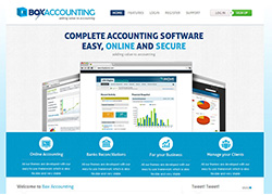 Box Accounting -  Website Designed & Developed By AMS Informatics
